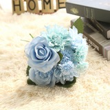 Elegant Free-Form Fabric Bridesmaid Bouquets/Decorations - (123125127)