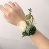 Éclosion Fleur en soie Sets de fleurs - Corsage du poignet/Boutonnière (123205641)