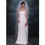 Four-tier Waltz Bridal Veils With Cut Edge (006020355)
