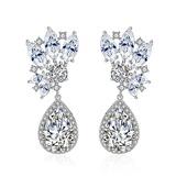 Classic Alloy/Zircon Ladies' Earrings (011177819)