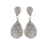 Exquisite Alloy/Rhinestones Ladies' Earrings (011035572)