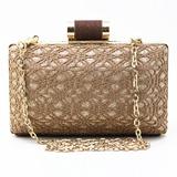 Einzigartig Spitze/Funkelnde Glitzer Handtaschen (012186843)