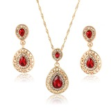 Exquisite Alloy/Rhinestones/Glass With Rhinestone Ladies' Jewelry Sets (011201975)