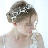 Classic Crystal Headbands With Crystal (Sold in single piece) (042192924)