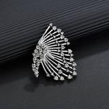 Vintage Alloy Rhinestones Women's Fashion Earrings (Sold in a single piece) (137197149)