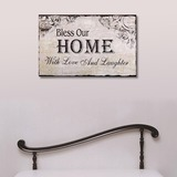 Classic/Square Design Wooden Wedding Sign (set of 2) (131186045)