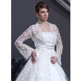 Lange Ärmel Lace Hochzeit Bolero (013022588)