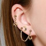 Vintage Alloy Women's Fashion Earrings (Set of 3) (137202655)