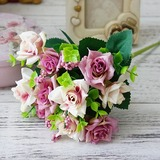 Nice Free-Form Silk Flower Decorations/Wedding Table Flowers - (123192868)