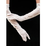 Tulle Opera Length Bridal Gloves (014200796)