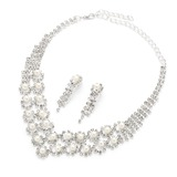 Elegant Alloy/Pearl/Rhinestones Ladies' Jewelry Sets (011054300)
