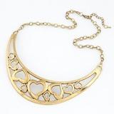 Schöne Legierung Damen Mode-Halskette (011040197)