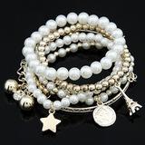 Mode Legering met Parel Vrouwen Armbanden (011035297)