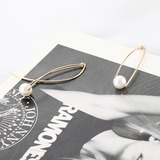 Beautiful Alloy Imitation Pearls With Imitation Pearl Women's Fashion Earrings (137178054)