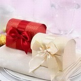 Treasure Chest Card Paper Favor Boxes With Ribbons (Set of 12) (050024065)