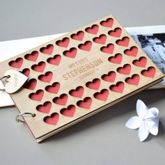 Personalized design Wood Guestbook (101198171)