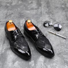 Herren Kunstleder Zuschnüren Abendschuhe Herren-Oxford-Schuhe (259187616)