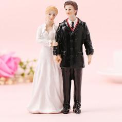 Coppia Classic/Sposa e Sposo Resina Decorazioni per torte (Venduto in un unico pezzo) (119187416)