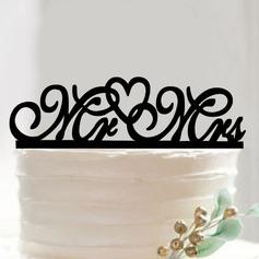Mr & Mrs/You & Me Acrilico Decorazioni per torte (Venduto in un unico pezzo) (119187346)