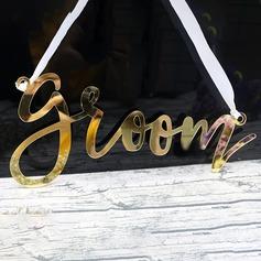 dello sposo & Style/Bella Sposa e Sposo/Stile vintage Acrilico (Set di 2) (051175002)