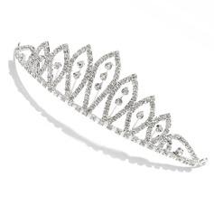 elegant rhinestone tiara / Hodepynt (042009723)