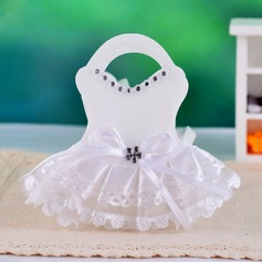 Design des robes de mariées Sacs cadeaux avec Dentelles (Lot de 12) (050025884)