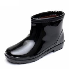 Maschile PVC Stivali da pioggia Casuale Stivali da uomo (261172560)