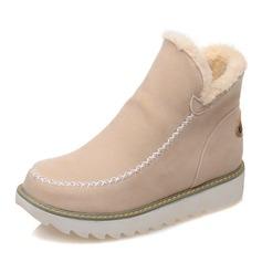 Donna Camoscio Senza tacco Stivali Stivali alla caviglia Stivali da neve con Altrui scarpe (088146778)