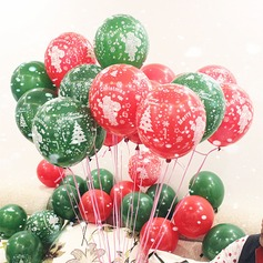 10inch 50pcs Red and Green Mixed Color Christmas Balloons (Set of 50) Gifts (129148787)