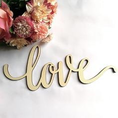 Amano il design Lettera Legno Wedding Sign (Venduto in un unico pezzo) (131167210)