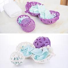 Plastic Vaskebold Tørretumbler Bold Holder Tøjvask Blød Frisk Vaskemaskine Tørretumbler (Sæt af 2) Gaver (129140546)