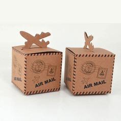 Cubi Carta Kraft Scatole di Favore (set di 12) (050146441)