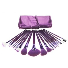 1 Attrayant 21Pcs Pourpre poche Maquillage (046049085)