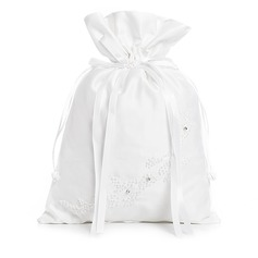 Elegante Raso con Archetto/Perla imitazione Borsa da sposa (012003820)