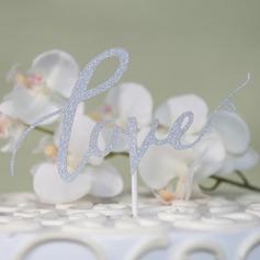 Amano il design/Amore è dolce carta della carta Decorazioni per torte (Venduto in un unico pezzo) (119163088)