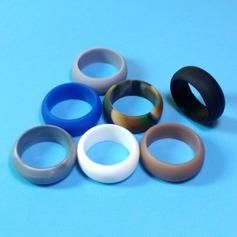 Modern Silikone Fashionable Resin Fashion Rings Gaver (129140567)