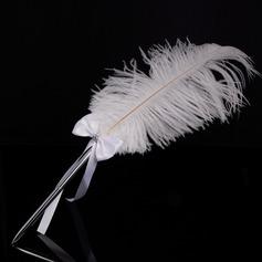 Elegante Strass/Arco/Piuma Set di penne (101151597)