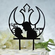 Amore è dolce Acrilico Decorazioni per torte (119156962)