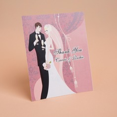 Personalized Bride & Groom Style Thank You Cards (Set of 50) (114059350)