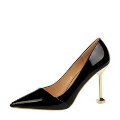 De mujer Piel brillante Tacón stilettos Salón Cerrados con Otros zapatos (085139798)
