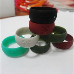 Modern Silikone Fashionable Resin Fashion Rings Gaver (129140559)