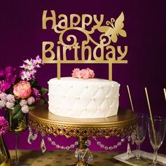 Buon compleanno Acrilico Decorazioni per torte (119154796)