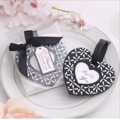 Herzförmige Herzförmige Kunststoff Gepäckschilder (In Einem Stück Verkauft) (051089986)