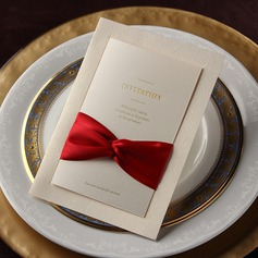 Classic Style Flat Card Invitation Cards With Ribbons (Set of 50) (114031221)