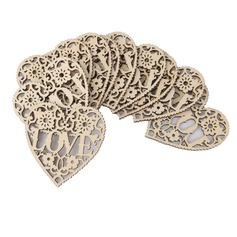 Kærlighed Udformning Træ Dekorativt tilbehør (Sæt med 50) (131124911)