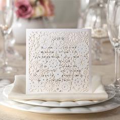 Personalizzato Stile Floreale Wrap & Pocket Invitation Cards (Set di 50) (114055079)