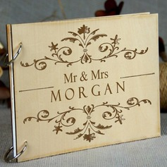 Personalized design Wood Guestbook (101198156)