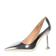 De mujer Piel brillante Tacón stilettos Salón Cerrados con Otros zapatos (085139797)