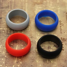 Modern Silikone Fashionable Resin Fashion Rings Gaver (129140556)