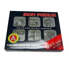 Legetøj Modern Metal Brain Teaser Puslesæt Non-personaliseret Gaver (129140511)